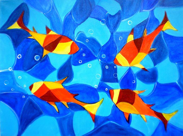 Joy Fish - artbymanjiri
