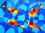 Original Painting of fish