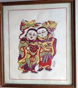 China Traditional woodcut painting