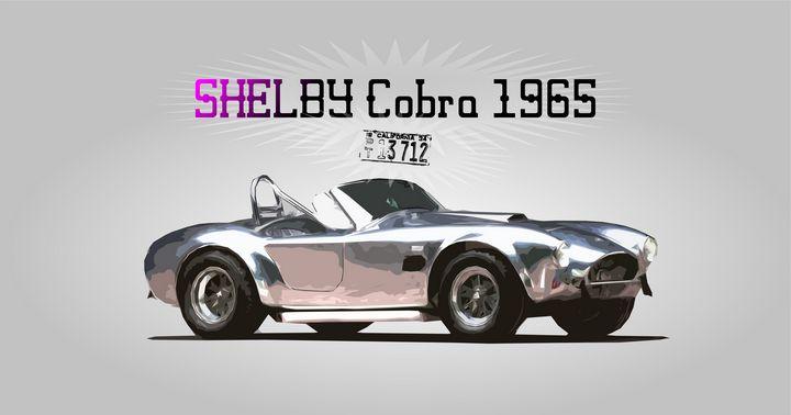 Shelby Cobra Car - Zelko Radic Bfvrp