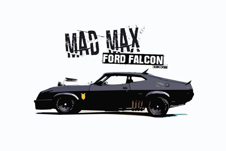 Mad Max Ford Falcon - Zelko Radic Bfvrp