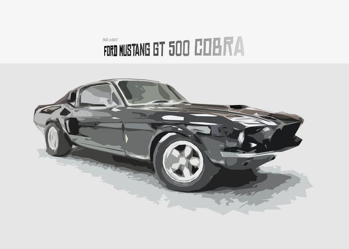 Ford Mustang Cobra - Zelko Radic Bfvrp