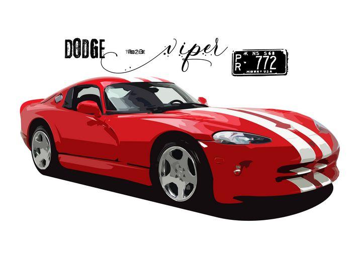 Dodge Viper 772 - Zelko Radic Bfvrp