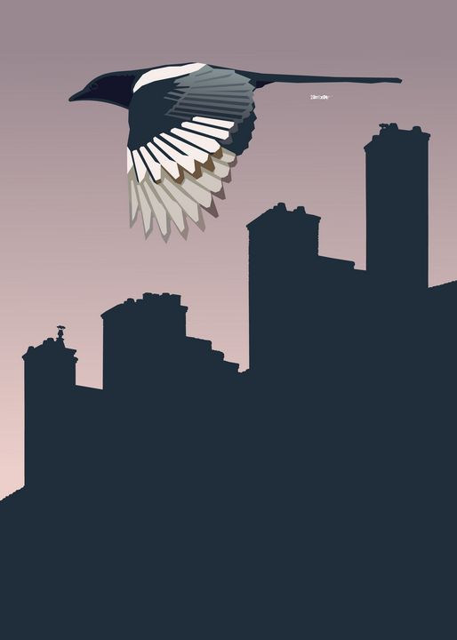 Bird Over City - Zelko Radic Bfvrp