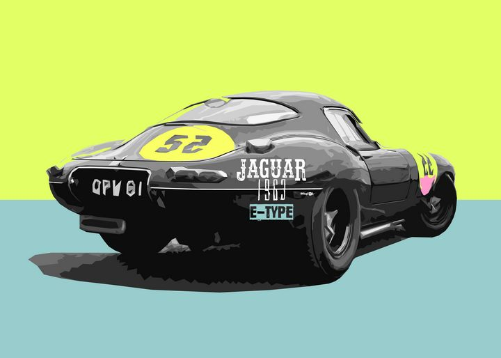 Jaguar Retro Car - Zelko Radic Bfvrp