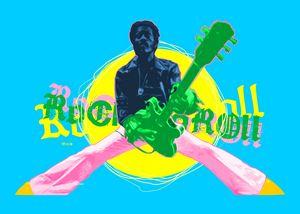 Pop Art Chuck Berry