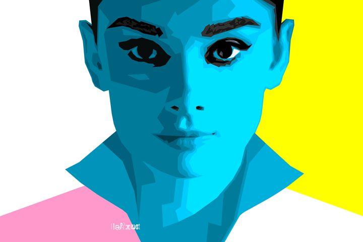 Pop Art Audrey - Zelko Radic Bfvrp