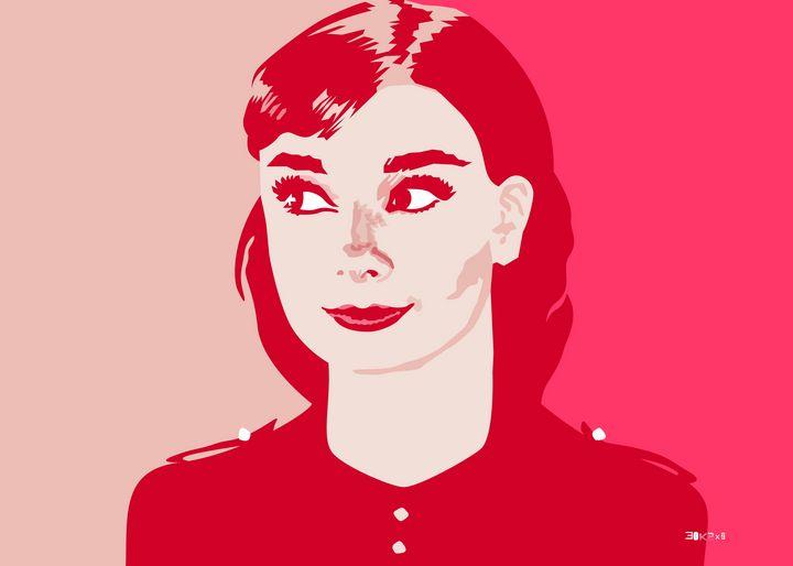 Audrey Hepburn III - Zelko Radic Bfvrp