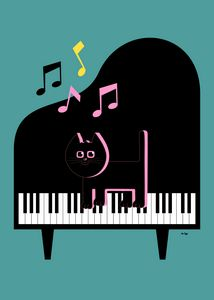 Cat Musician