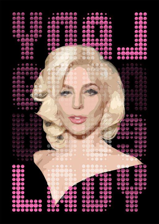 Pop Singer Gaga - Zelko Radic Bfvrp