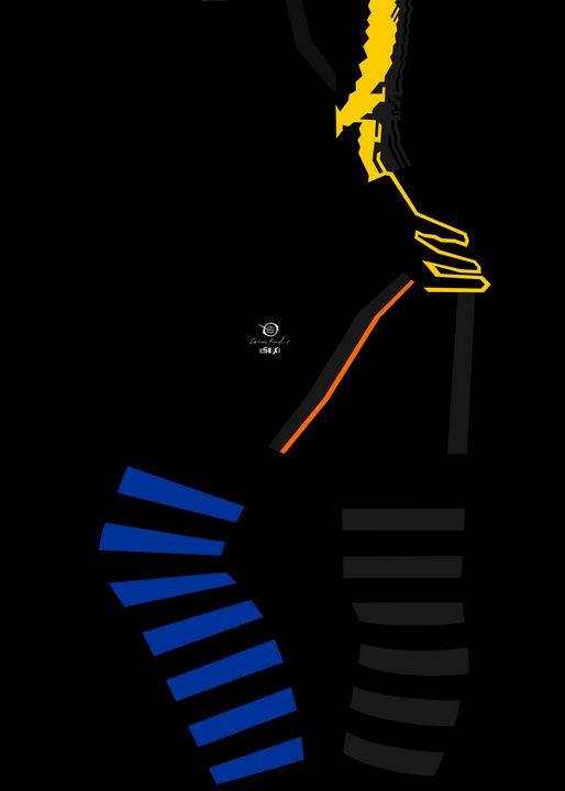 Blue Socks Lady - Zelko Radic Bfvrp