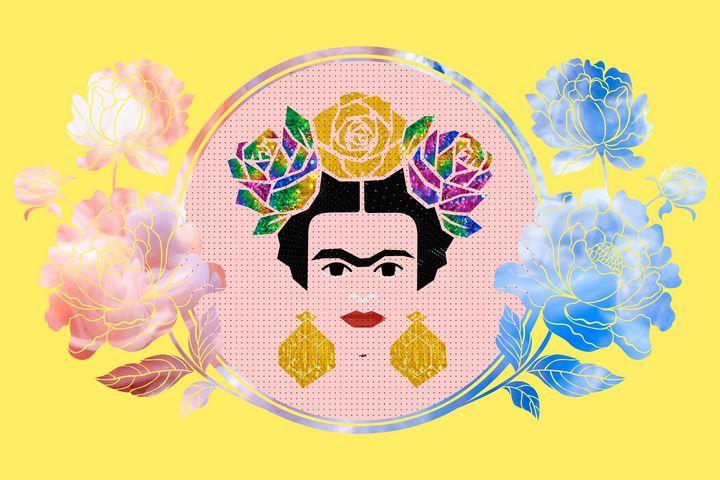Young Frida Kahlo - Zelko Radic Bfvrp