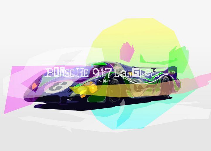 Porsche 917 Car - Zelko Radic Bfvrp