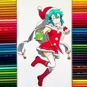 Christmas Sinon - Sword Art Online