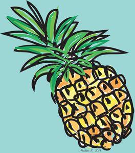 Ananas Pinapple - Pauline K