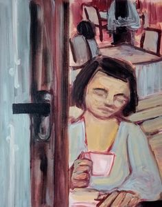 Indoor cafe