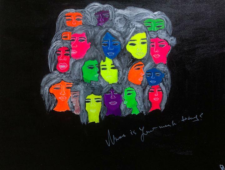 Faces - Anastasia Merris