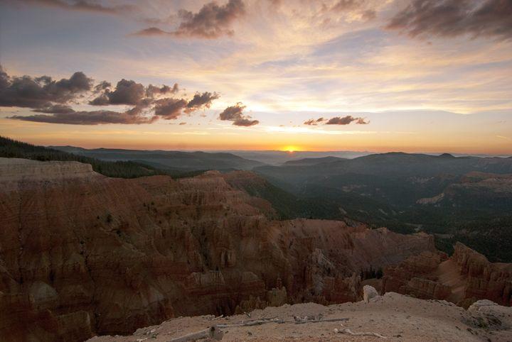 Sunset at Cedar Breaks - Sonya Marie Photography