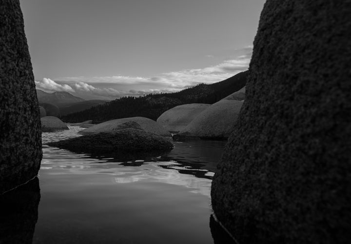 Calming waters of Tahoe - Jdeckphoto