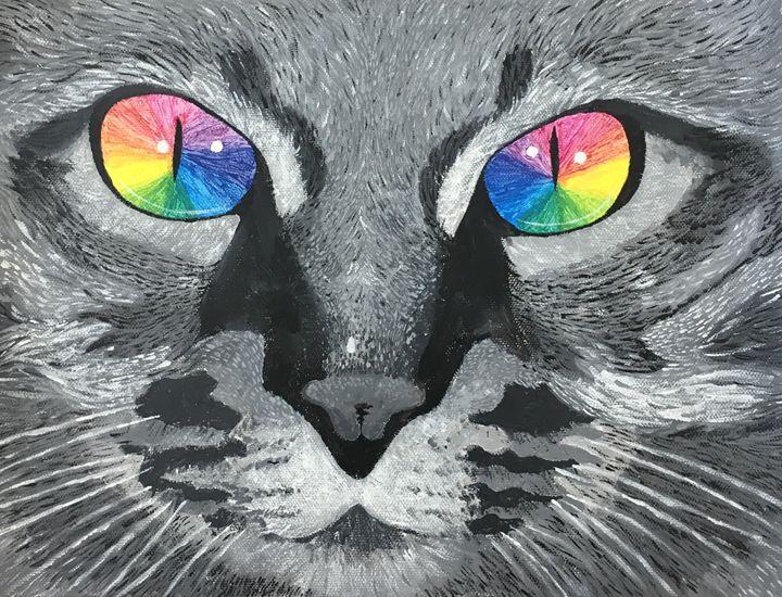 In a Cat's Eyes - Janae Visser