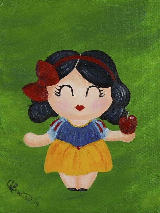 Snow White - Kokeshi-Mi Art Collection