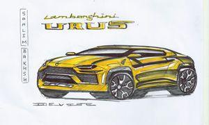 Lamborghini URUS - Mohd Saalim
