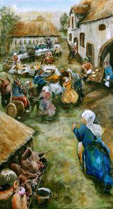 'Varkensrapen voor de knecht'