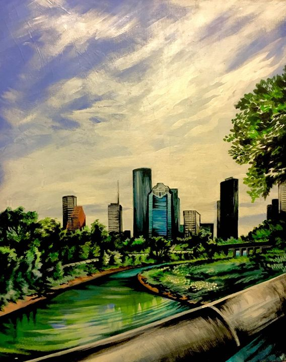 Buffalo Bayou, Houston, TX - Aliah Montazeri
