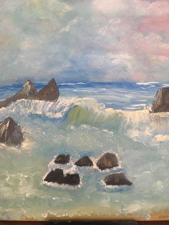 Ocean Waves - Melody K Kiser