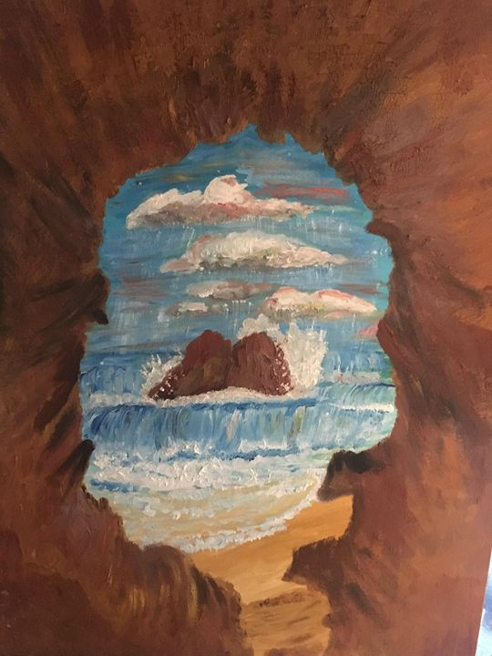 Oregon Cave with Oceanvew - Melody K Kiser