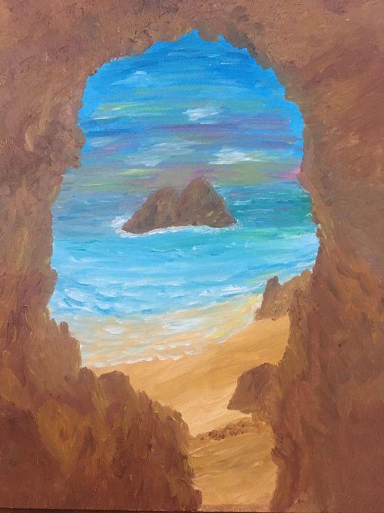 Oceanside Cave View - Melody K Kiser