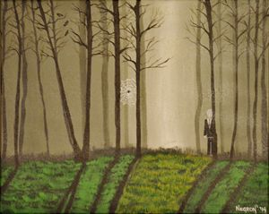 Slenderman's Spooky Forest