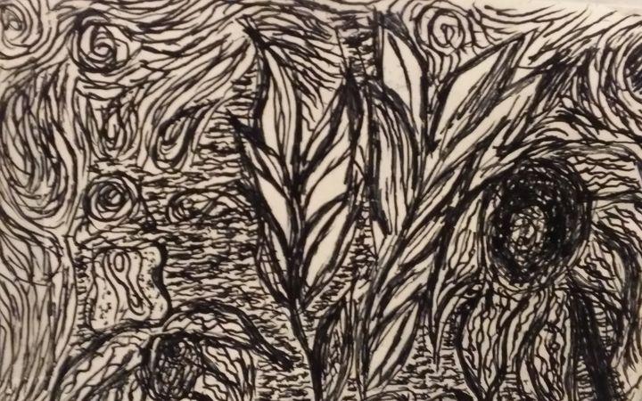 Garden1 (Oil Pastel coming soon) - Hastick Gallery