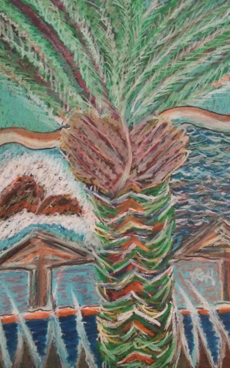 """Los Cabos  """"Palm Tree"""" - Hastick Gallery"""