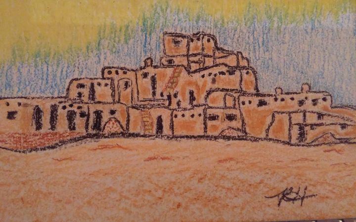 Taos Pueblo - Hastick Gallery
