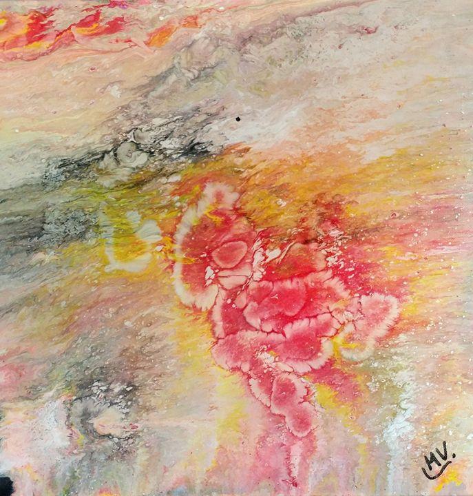 Le soleil brille - MVJ Artiste peintre