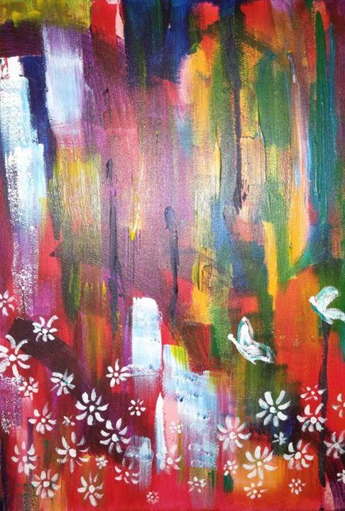 Pretty butterflys - MVJ Artiste peintre