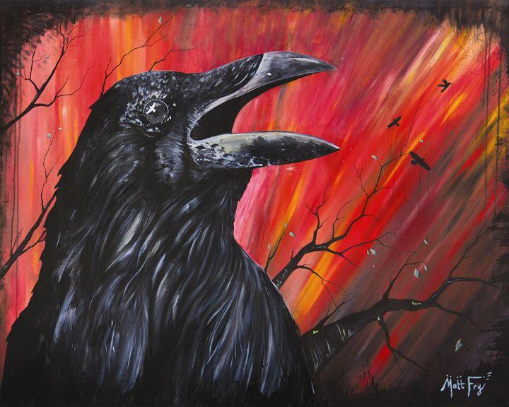 Raven - Irony Arts