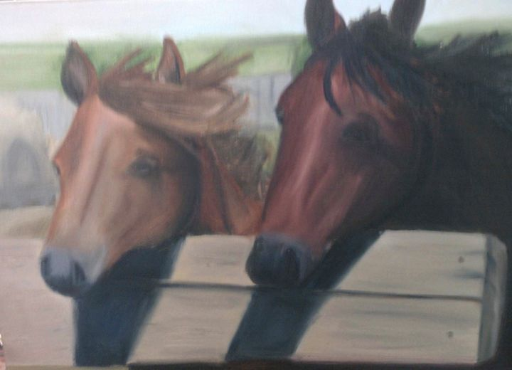Horse friends - Kate S