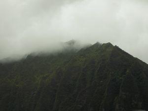 Cloud Upon the Ridge