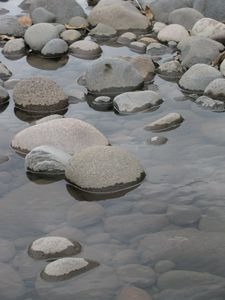 Pebbles in the River