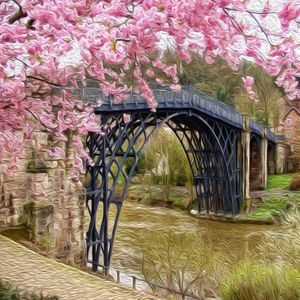 Bridge in Bloom