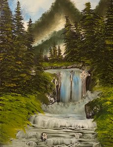 Amazing Waterfall - Jbennett
