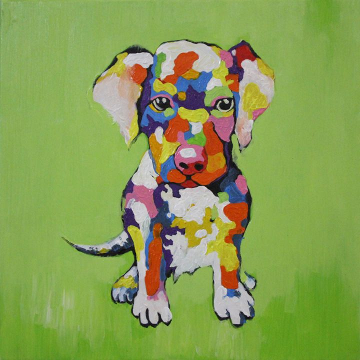 Colorful dog - Ninhart Vu
