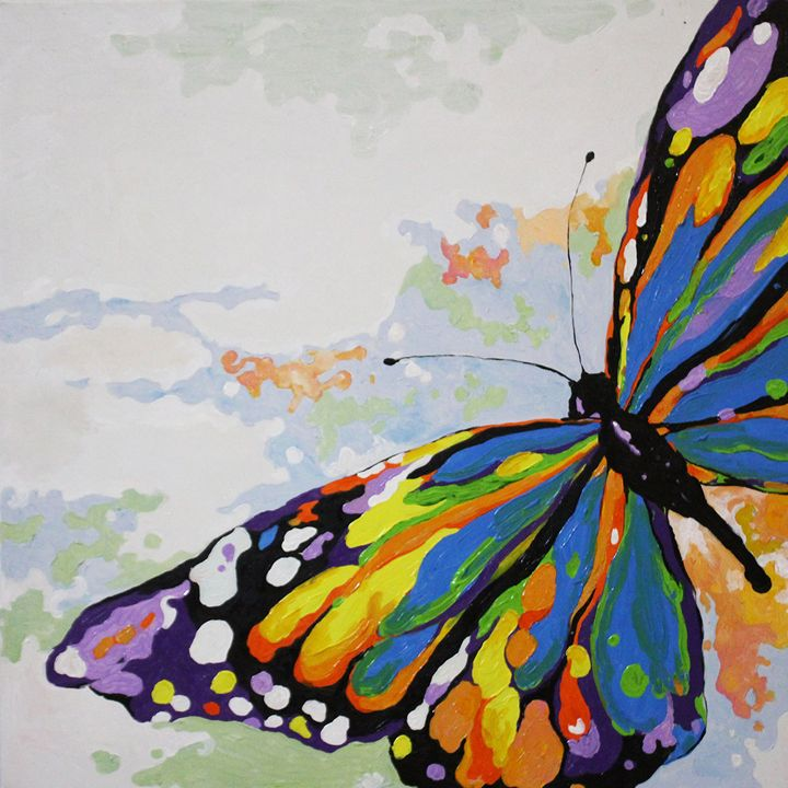 Colorful Butterfly - Ninhart Vu