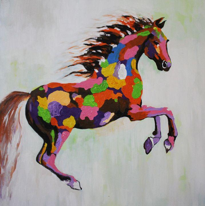 Colorful horse - Ninhart Vu