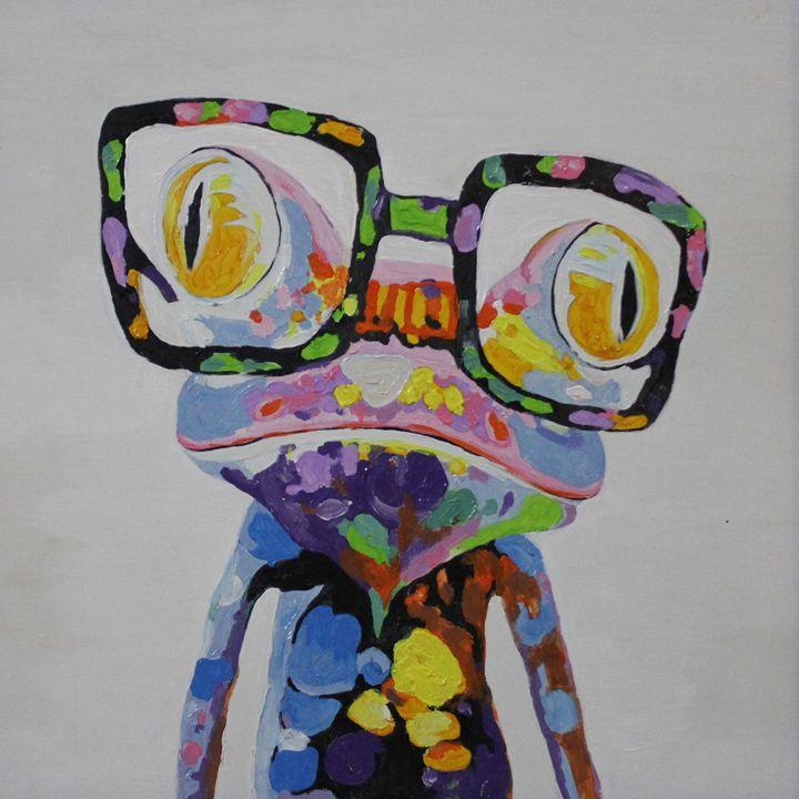 Colorful frog - Ninhart Vu