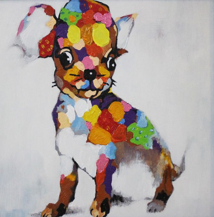 Colorful dog - Ninhart Vu
