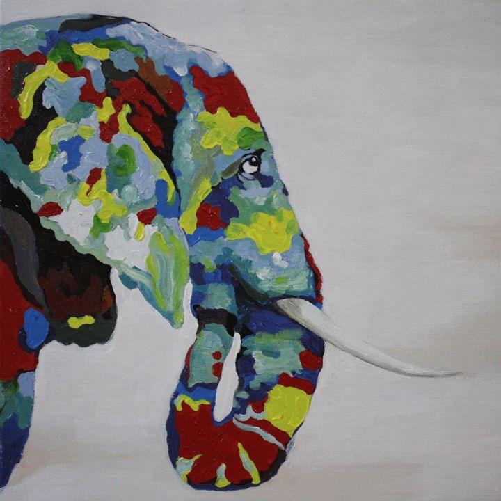Colorful Elephant - Ninhart Vu