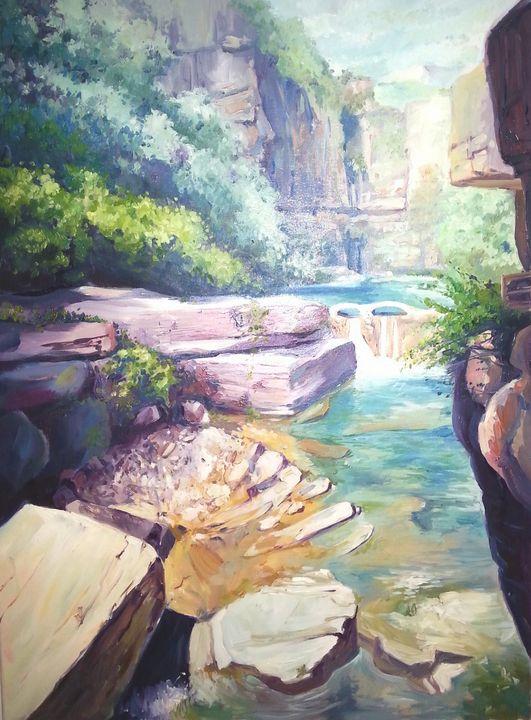 In the mountains - ArtistGalina